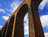 arches, Culloden, Highlands, Scotland, Victorian, span, summery, sky photo