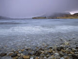 Ardvreck Storm, Loch Assynt, Sutherland, Scotland, savage, squalls, horizontal, rain, hail, dramatic, unpleasant, Quinag photo