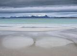 Art Of Mellon 5, Mellon Udrigle, Wester Ross, Scotland, winds, cloud, sunrise, tide, sand, patterns, overcast, turquoise photo