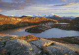 Autumn Splendour Diabaig, Diabaig, Torridon, Scotland, favourite, high, altitude, lochans, tongue, rock, warm, cold, hue photo