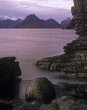 Beach ball, Elgol, Skye, Scotland, Joe Cornish, spherical, pink photo