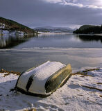 biding, time, Pityoulish, Aviemore, Scotland, boat, snowfall, sunshine photo