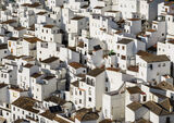 Casares Tenements, Casares, Andalucia, Spain, Andalucian, picturesque, jig-saw, puzzle, white, sprawl, houses, pantiled photo