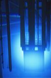 Chernekovs radiation, radiation, Washington State, USA, radioactive, decay, blue, vivid, light photo