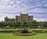 culzean castle, castle, Ayr, Scotland, national trust, imposing, building, grounds, manicured, sky photo