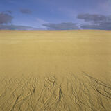 Drainage Filligree, Traigh Mhor, Harris, Scotland, beach, orange, yellow, steep, dunes, immaculate, unblemished, sea, de photo