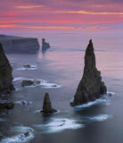 Duncansby Gloaming, Duncansby Stacks, Caithness, Scotland, summers, morning, pre-dawn, sky, plum, sumptuous, colour, sea photo