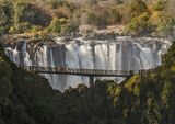 Eau Tombe, Victoria Falls, Zimbabwe, Africa, gigantic, expanse, volume, water, massive, windblown, spray, eco-system photo