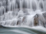 Glen Etive Falls, Glen Etive, Highlands, Scotland, snow, melt, rain, flow, lateral, river, cascades, water, waterfalls  photo