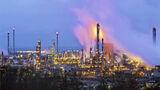 Grangemouth Refinery, Grangemouth, Falkirk, Scotland, twilight, ambient, artificial, lights, beautiful, nightmare  photo