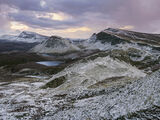 Sugar Coated Sharks Fin, Quiraing, Skye, Scotland, magnificent, viewpoints, snow, dusted, chilly, fin,  photo