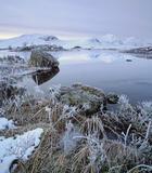 Icy Grip Rannoch, Rannoch Moor, Glencoe, Scotland, winter, weather, Blackmount, sugar dusted, river, reflection, rime, f photo