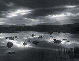 Illuminati, Rannoch Moor, Glencoe, Scotland, light, holy, display, rays, burst, cloud, moor, contrast, reflection photo