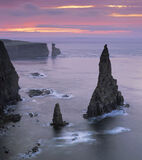 Jaws Of Duncansby, Duncansby Head, Caithness, Scotland, beautiful, sunrise, delicate, misty, cliff, magical, sea, cool  photo