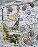Jelly Beans & Honeycomb, Elgol, Skye, Scotland, scale, honeycombed, cliffs, pebble, stone, grooves, artefacts photo