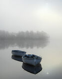 Languid Rusky 2, Loch Rusky, Trossachs, Scotland, mist, gorgeous, magic, morning, sun, partially concealed, pale blue, b