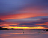 Loganstir Afterglow, Loganstir, Harris, Scotland, extreme, exposures, clouds, smear, definition, colour, tide, silhouett photo