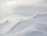Marshmallow 2, Straumsbotn, Senja, Norway, mountain, white, unblemished, winter, white, sheet, sail, billowing, pattern photo