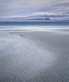 Mellon Pattination, Mellon Udrigle, Laide, Scotland, windy, beach, subtle, sand, patterns, foreground, peaks, Coigach, S photo