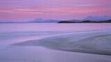 Mellon Rouge Pano, Mellon Udrigle, Wester Ross, Scotland, intense, pre-dawn, colour, seamless, tidal action,, reflected photo