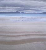 Mellon Striped, Mellon Udrigle, Laide, Scotland, beach, flat, dawn, soft, hues, tones, coast, mountain, Coigach, sand, c photo