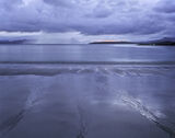 Mellon Twilight, Mellon Udrigle, Ross-Shire, Scotland, sand, beautiful, steely, blue, twilight,triple, channels, water,  photo
