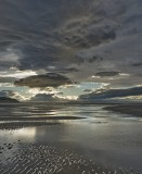 Ominous Findhorn, Findhorn, Moray, Scotland, clouds, sky, dramatic photo