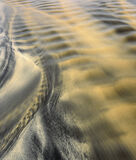 Black and Tan, Dail Beag, Lewis, Scotland, coarse, sandy, beach, minerals, stain, sand, black, tan, etched, patterns  photo