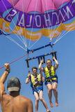 Para Guidance, St Nicholas, Zakynthos, Greece, parachute, Ben, Lauren, boat, guided   photo