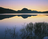 Perfect Dawn, Slattadale, Torridon, Scotland, dawn, sunrise, illuminate, delicate, mellow, gentle, lilac, twilight, blue photo