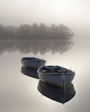 Platinum Rusky 2, Loch Rusky, Trossachs, Scotland, sunrise, evocative, gorgeous, platinum, lighting, floating, row boats photo