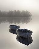 Platinum Rusky 2, Loch Rusky, Trossachs, Scotland, sunrise, evocative, gorgeous, platinum, lighting, floating, row boats