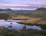 Raspberry Ripple, Rannoch Moor, Glencoe, Scotland, sunrise, red, horizon, mist, veil, viewpoint, lofty, rippled, sky, re photo