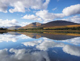 Reflection Perfection Tulla, Loch Tulla, Glencoe, Scotland, still, morning, expanse, glass, sheet, cloud, patterns, loch photo