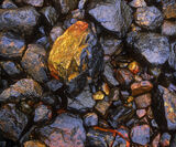 Rock Bling!!, Kinlochleven, Glencoe, Scotland, tidal, shoreline, rock, photo