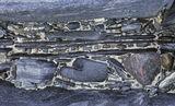 Rock Vein, Traigh Mhor, Harris, Scotland, details, small, beach, awkward, perpendicular, crack, pressure, forces, pebble photo