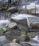 Rocky River Etive, Glen Etive, Glencoe, Scotland, river, flow, cascades, rocks, pale, red, green, weed, clear, water  photo