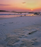 Sand Cakes Hosta, Hosta, North Uist, Scotland, sand, sculpted, pancakes, patterned, foreground, sun, rippled, sand, shad photo