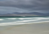Seilebost Impressions, Seilebost, Harris, Scotland, vaseline, breakers, sunlit, moody, grey, artistic, west coast, beach photo