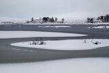 Snow Saucers 2 Loch Ba, Rannoch Moor, Glencoe, Scotland, thick, blanket, snow, saucers, beautiful, slushy, ice, featurel photo