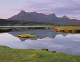 Summer Ben Loyal, Ben Loyal, Sutherland, Scotland, Kyle Of Tongue, tide, salt flats, river, mirror, reflecting, clarity, photo