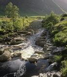 Summer Daze, Glen Etive, Glencoe, Scotland, magnificent, glens, rock, cascading, mountains, summer, water, river photo