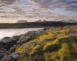 Summer Morning Achnahaird, Achnahaird Bay, Inverpolly, Scotland, view, peaks, Cul Mor, Stac Pollaidh, Coigach, cliff photo