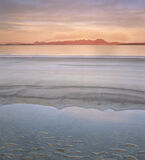 Tangerine Mellon, Mellon Udrigle, Laide, Scotland, sky, beach, sun, scarlet, Coigach, Suilven, Inverpolly, mountains  photo