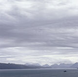 The Minch Square, The Minch, Skye, Scotland, mountains, moody, gritty, mood, Cuillins photo