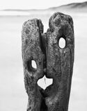 The Scream Mono, Sandsend, North Yorkshire, England, scary, weathered, groyne, wet, sand, coast, Edvard Munch, disturbin photo