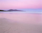 Traigh Lar Pink, Traigh Lar, Harris, Scotland, soft, pink, sunrise, sky, anti-solar, Earth's shadow, gentle, Ceaphabal,  photo
