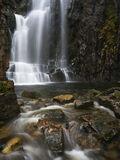Wailing Widow Falls, Kylesku, Assynt, Scotland, superb, waterfall, drop, loch, gorge, falls, arduous, inclement   photo