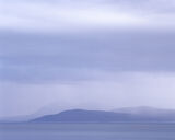 Weather, Applecross, Highlands, Scotland, blue, mesmerisingly beautiful, sombre, minimalism, overlapping, hills, rain, t photo