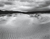 Wind Warp, Achnahaird Bay, Inverpolly, Scotland, beach, sand, dunes, scoured, grains, squall, fury, stormiest, moody, mo photo